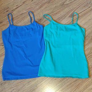 3/$20 EUC pair of Express camis